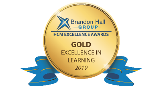 Brandon Hall Group Excellence Awards Program, 2019 - Excellence in Learning (Best Advance in Creating a Learning Strategy)