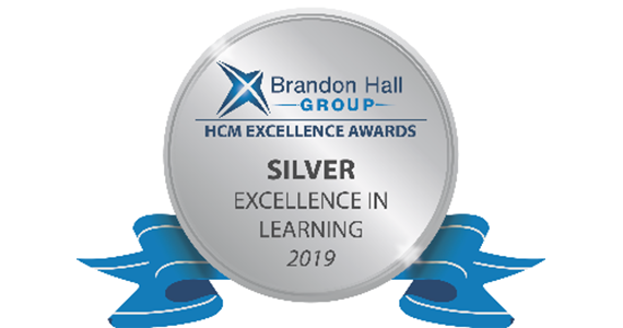 Brandon Hall Group Excellence Awards Program, 2019 - Excellence in Learning
