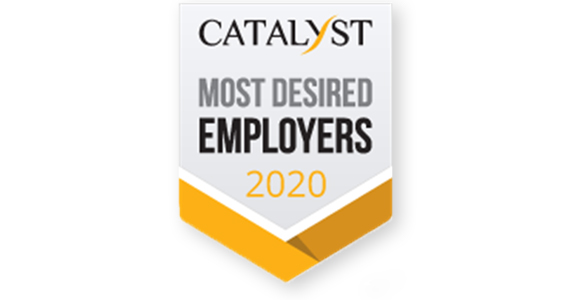 CATALYST Top50 Most Desired Employers 2018