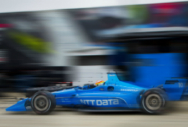 NTT Data racing car