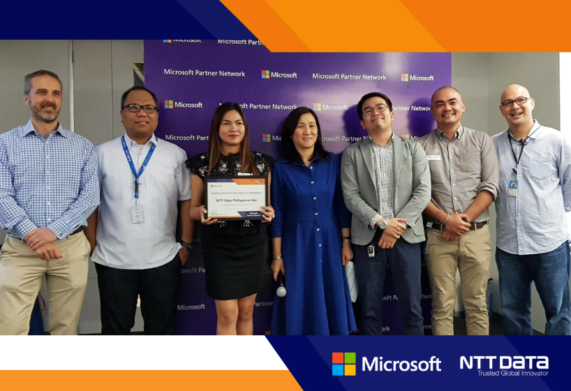 NTT DATA Philippines Recognized at 2018 Microsoft Partner Awards