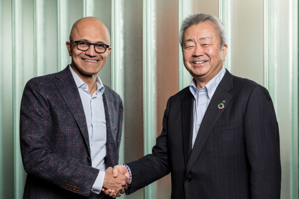 NTT and Microsoft form a strategic alliance to enable new digital solutions