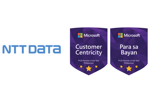 NTT DATA Philippines wins big at 2020 Microsoft Philippines Partner Awards